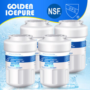 Fit For GE MWF SmartWater MWFP GWF Refrigerator Water Filter 4 Pack $31.27
