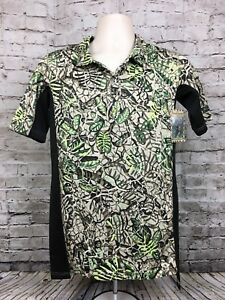 Brush Country Camouflage Dry Fit Polo Shirt Unisex Size Small Hunting Camo