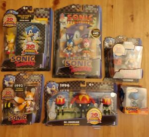 Sonic the Hedgehog 20th Anniversary Set Action Figure Toy Rare