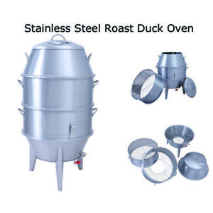 Charcoal Roast Duck Oven Chicken Roasting Kitchen Cooker Peking Crispy Duck