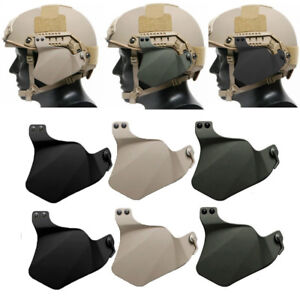 Rubber Side Protector Ears Covers For Airsoft Tactical Fast Rail Helmet Glitzy