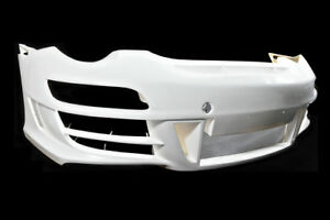 Front Bumper Add on Unpaint FRP For Porsche 911 997 Mark II Carrera Pior Design