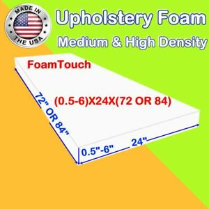 Upholstery FoamTouch Foam Seat Cushion Replacement - 24