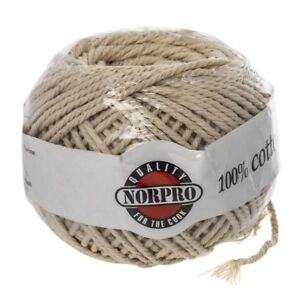 Norpro New Cotton Butchers Meat Trussing Twine String 220 Ft 100% C