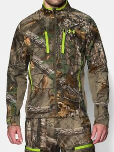 Under Armour Scent Control Infrared Softershell Camo Jacket and Pants Set-L