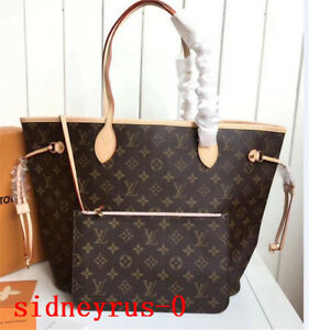100% Authentic Louis Vuitton Neverfull MM Monogram Cherry With Pouch Tote bag