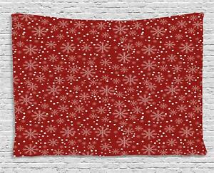 Geometric Christmas Tapestry Wall Hanging Art Bedroom Dorm 2 Sizes Available