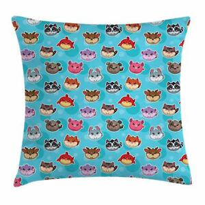 Vintage Children Throw Pillow Cases Cushion Covers Home Decor 8 Sizes