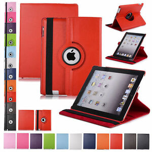 360 Rotating Leather Folio Case Cover Stand for iPad 234 Mini Air 9.7 10.2 10.5 $7.79