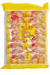 SILANG Coconut Thin Cracker coconut biscuit