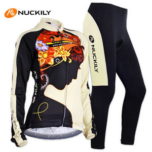 NUCKI Slim Fit Comfortable Sport Cycling Jerseys Gel Padded Breathable Quick Dry