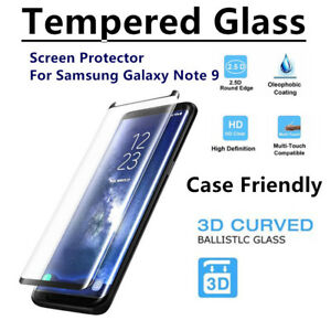 Lot Premium Tempered Glass Screen Protector Film For SAMSUNG Galaxy Note 9