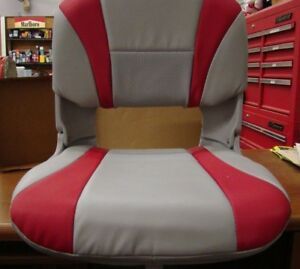 G3 TEMPRESS  BOAT SEAT GRAY & RED
