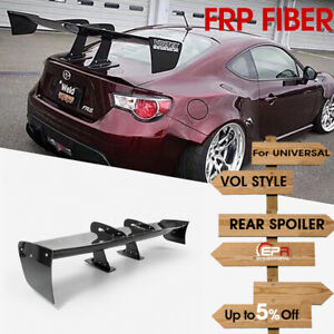 For Universal Swan Neck Carnbon VTX Style GT Rear wing 1600mm x 300mm height
