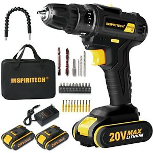 12 V drill 2 Speed Electric Cordless Drill/Driver with Bits Set