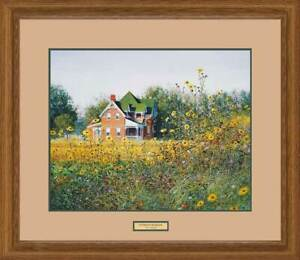 Victorian in the Meadow Framed Limited Edition Print by Ned Young $199.00