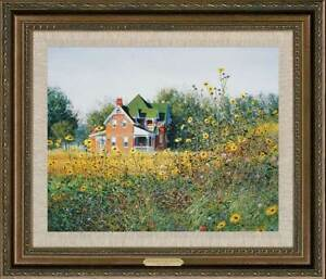 Victorian in the Meadow Framed Limited Edition Canvas by Ned Young $725.00