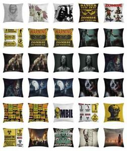 Zombie Throw Pillow Cases Cushion Covers Home Decor 8 Sizes Ambesonne