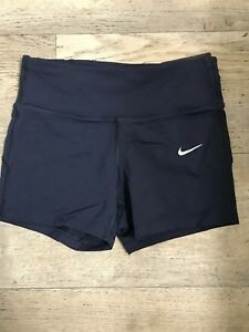 NIKE EPIC LUX WOMEN'S RUNNING SHORTS NEW Navy blue XS