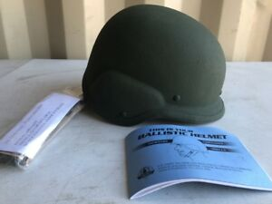 Ballistic Helmet US Military Issue PASGT Unicor Size Large L made with Kevlar