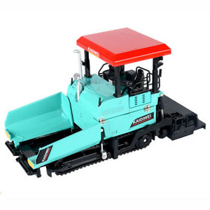 1:40 Paver Truck Construction Model Metal Diecast Vehicle Toy Blue Kids Gift