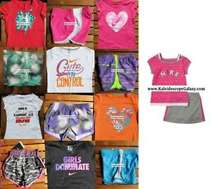 GIRLS 6X SUMMER CLOTHING ~ TEMPO RUNNING SHORTS ~ T-SHIRTS ~ SUMMER ~ NEW $320