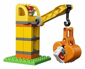 LEGO DUPLO Town Big Construction Site 10813 Best Toy for Toddlers Large Buildin
