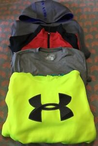 Under Armour Storm Boys Youth Medium Hoodie Top Jacket Lot YMD