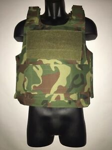 Bullet Proof Vest With High Level Plates