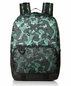 Under Armour Select Youth Backpack Black Green Camo Boys School Book Bag 1308765