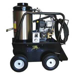 Light Duty 2000 psi 3.0 gpm Hot Water Gas Pressure Washer CAM SPRAY 2030QB