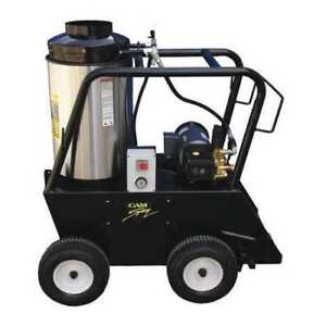 CAM SPRAY 2725QE Medium Duty 2700 psi 2.5 gpm Hot Water Electric Pressure Washer