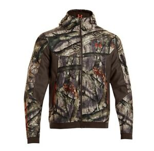 Under Armour Men's Ayton Fleece Camo Hooded Jacket L and Pants W3432