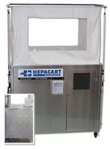 HEPACART HC74X-H Ceiling Cavity Dust Cntnmnt Unit 2 Prsn