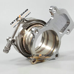 Cummins Holset WH1C HX35 HX35W HX40 Downpipe Turbo Flange To 3 V band adaptor