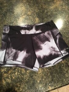 Champion C9 Duo Dry Womens Running Shorts Sz L Fitted - Set of 2