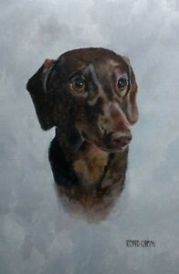 Dachshund print limited edition signed and numbered GBP 39.99