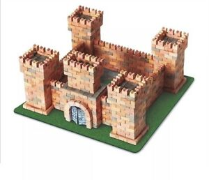 Wise Elk Toy Dragon's Castle Construction Set Real Plaster Bricks