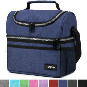Insulated Lunch Bag For Men Women Thermos Cooler Adults Tote Leakproof Lunch Box $17.99