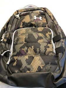 Under Armour Storm Camo Backpack.