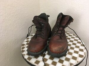 MADE IN USA OXBLOOD  LEATHER 926 RED WING WORK CHORE TRUCKER BOOTS 12 H
