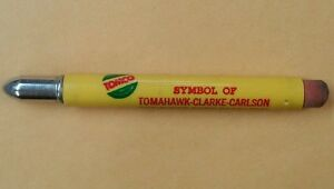 TOMCO Tomahawk-Clark-Carlson Combined Corn Research Advertisement Bullet Pencil