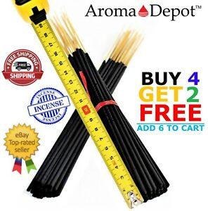 19quot; Long Jumbo Premium Incense Sticks 30 Per Pack Hand Dipped 19 inch Scented $9.95