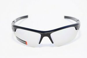 UNDER ARMOUR YOUTH WINDUP SPORT SUNGLASSES SHINY BLACK NON-POLARIZED 100% UV NEW