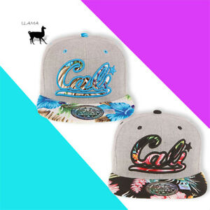 TOP California Flat Baseball Cap Adjustable Trucker Hat Cali Snapback Xmas Gift