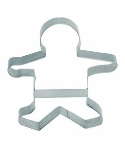Set of 12 KitchenCraft Large Gingerbread Man Cookie Cutter