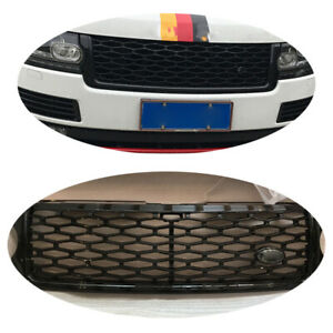Black Honeycomb Grilles Grille For Range Rover Sport SOV Refit Design Pack 13-17