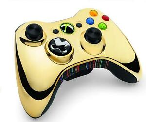 Xbox 360 Wireless Controller - Gold C-3PO Edition VERY RARE New