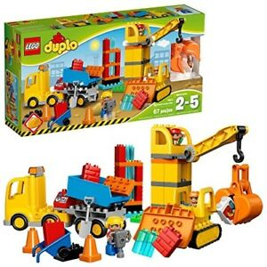 DUPLO Town Big Construction Site Best Gift Toy for Toddlers