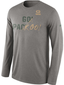 Nike Dri Fit Green Bay Packers Limited Gold Collection Go Pack Training shirt PE